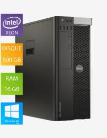 PC fixe reconditionné Dell Precision T3600 - Intel Xeon E5-1620