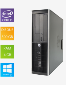 PC fixe reconditionné HP Compaq 8200 Elite SFF - Intel Core i5-2400