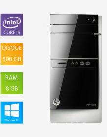 PC fixe reconditionné HP Pavilion - Intel Core I5-4460S