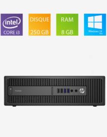 PC fixe reconditionné HP ProDesk 400 G1 SFF - Intel Core i3-4130