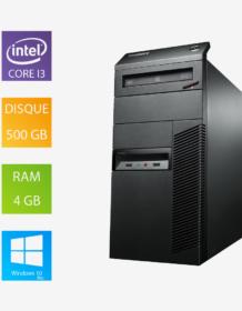 PC fixe reconditionné Lenovo ThinkCentre - Intel Core i3-4160