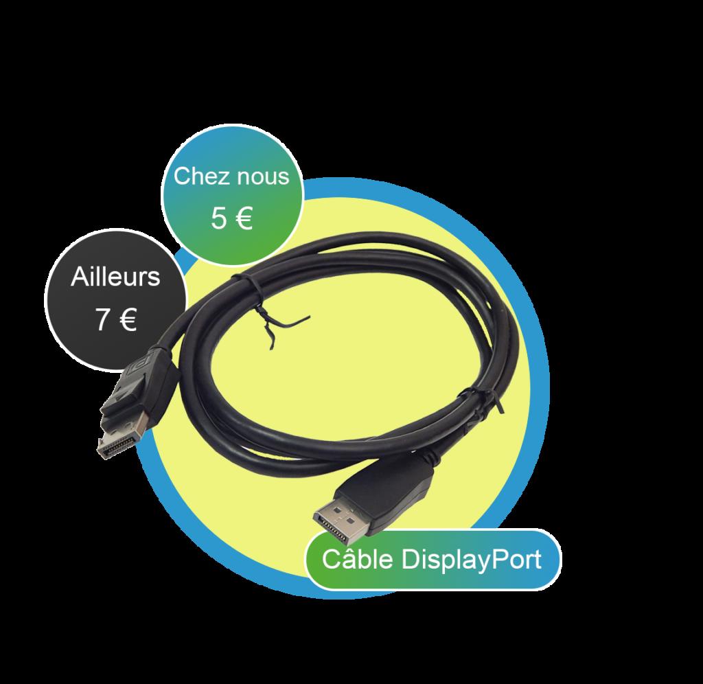 Câble DisplayPort