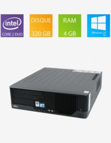 PC fixe reconditionné Fujitsu Esprimo E7936 E85+ - Intel Core 2 Duo E8400
