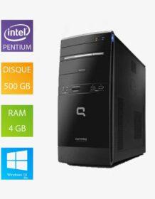 PC fixe reconditionné Compaq Presario - Pentium Dual Core E5300