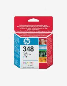 HP 348 (C9369EE) cartouche photo d'encre trois couleurs authentique