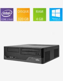PC fixe reconditionné Fujitsu Esprimo E3521 E85+ - Intel Core 2 Duo E8400